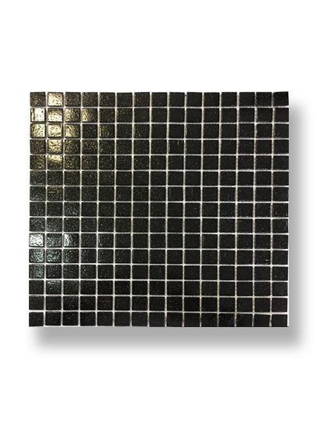 Gresite para piscinas tesela 2x2 cm malla 30x30 cm negro C101