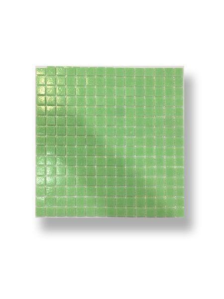 Gresite para piscinas tesela 2x2 cm malla 30x30 cm Verde A025