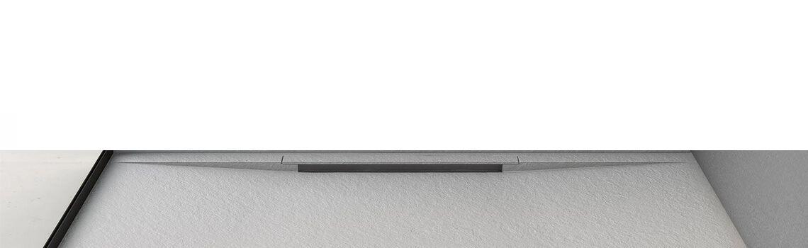 Plato de ducha Fiora Limite textura pizarra del prestigioso fabricante Fiora.