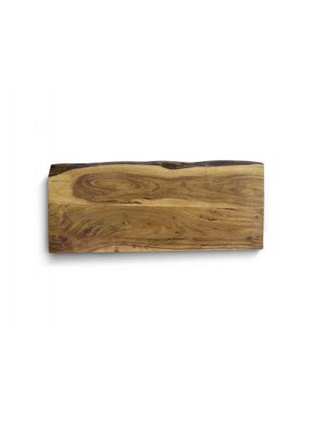 Encimera de madera natural Acacia clara