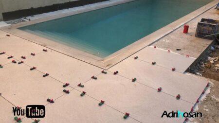 Peldaños para escaleras y piscinas. Episodio 76