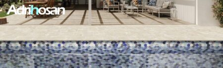 Peldaños y remates de piscina Adrihosan