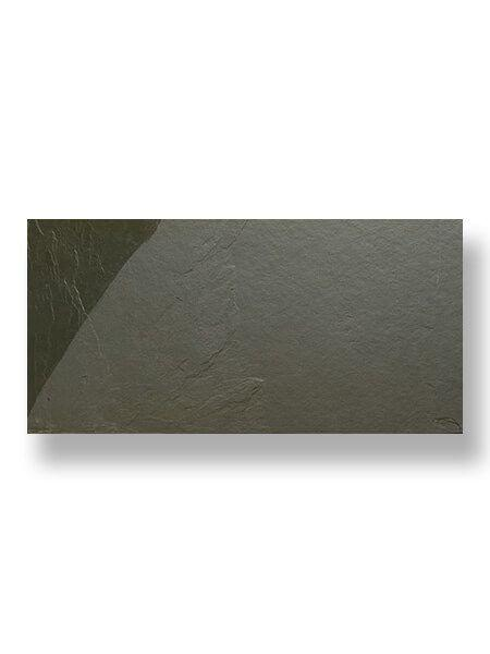 Piedra natural pizarra gris verde 30 x 60 cm (0.18 m2/cj