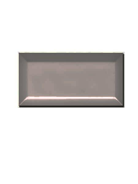Azulejo tipo metro biselado marengo brillo 10X20 cm (1 m2/cj)