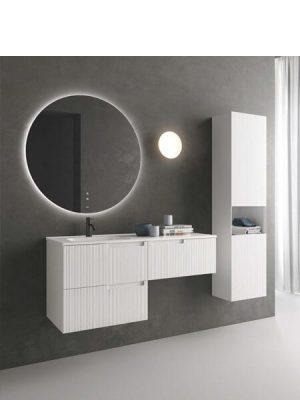 Mueble de baño suspendido 1 cajón uñero Sinergy de Fiora