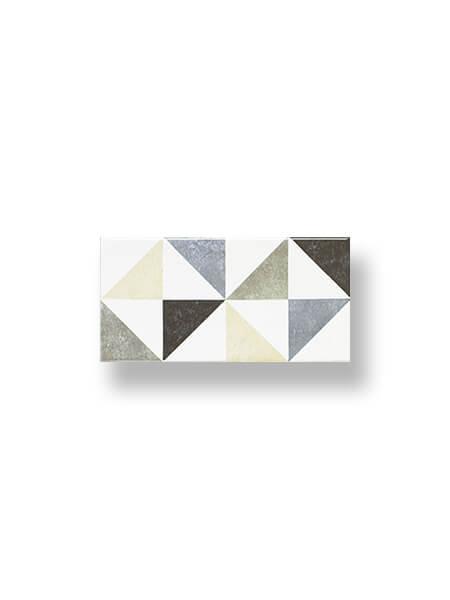 Revestimiento tipo metro Millenium diamante 10x20 cm (1 m2/cj)