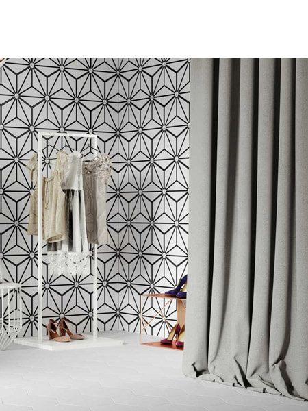Pavimento hexagonal porcelánico Osaka White 28.5 x 33 cm (1 m2/cj)