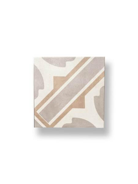 Pavimento porcelánico hidráulico Biela 22.3x22.3 cm (1 m2/cj)