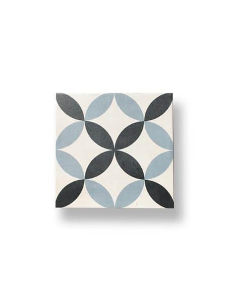 Pavimento porcelánico hidráulico Crile 22.3x22.3 cm (1 m2/cj)
