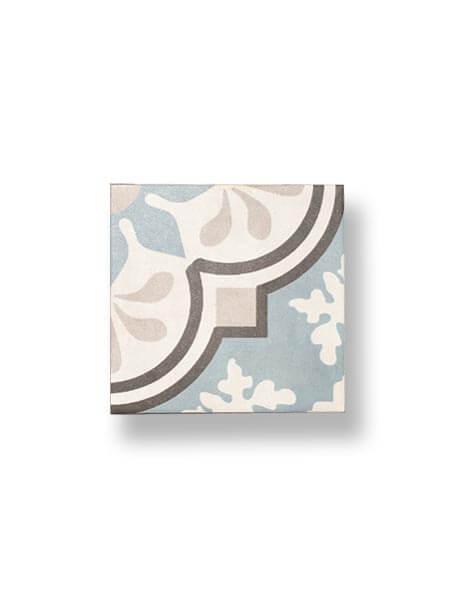 Pavimento porcelánico hidráulico Laue 22.3x22.3 cm (1 m2/cj)