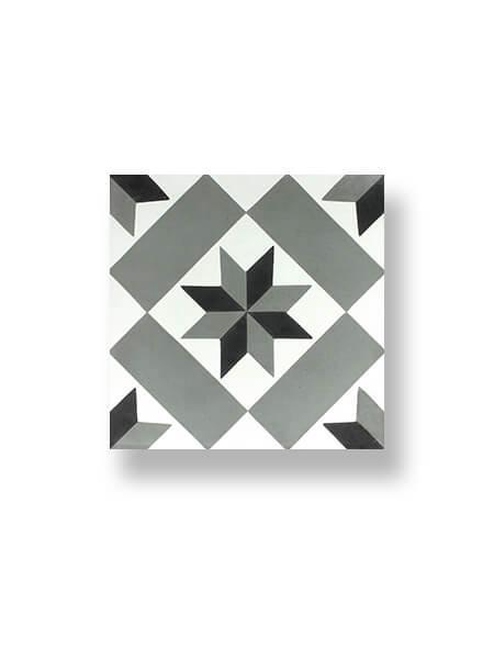 Pavimento porcelánico hidráulico Laverton Calvet gris 24x24 cm (1,04 m2/cj)