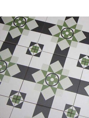 Pavimento porcelánico hidráulico Laverton dorda 24x24 cm.