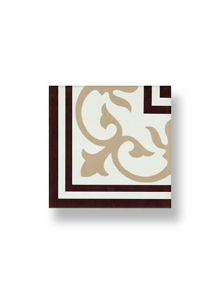 Pavimento porcelánico hidráulico Laverton esquina 24x24 cm (0,16 m2/cj)