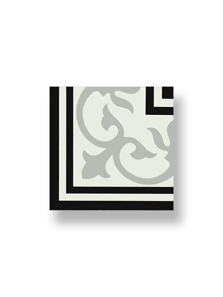 Pavimento porcelánico hidráulico Laverton esquina calvet 24x24 cm (0,16 m2/cj)