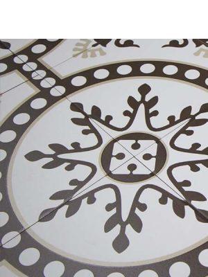 Pavimento porcelánico hidráulico Laverton Ordal 24x24 cm.