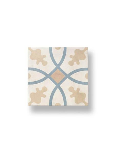 Pavimento porcelánico hidráulico Volta 22.3x22.3 cm (1 m2/cj)