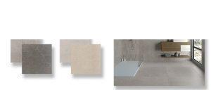 Pavimento porcelánico rectificado Mercurio 45x90 cm.