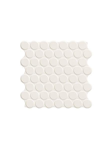Revestimiento porcelánico Circle white 30,9 x 30,9 cm (0.86 m2/cj)