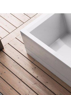 Bañera exenta acrílica Eliana 170x70 cm