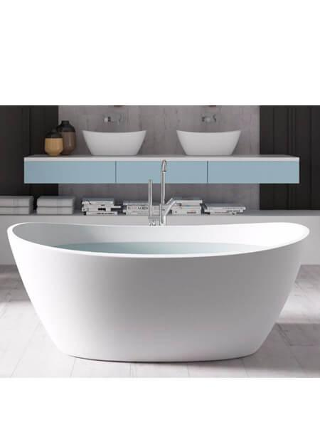 Bañera exenta Solid Surface Guinea 180x85 cm