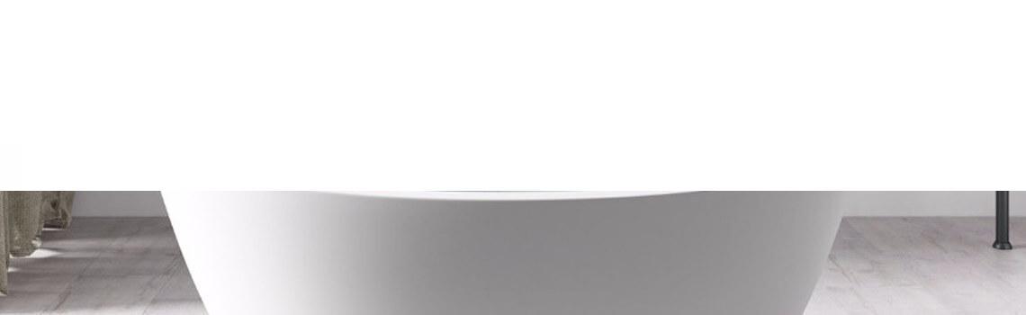 Bañera exenta Solid Surface Guinea 180x85 cm