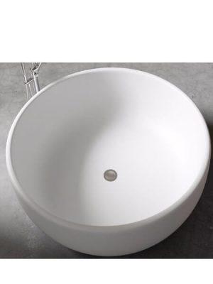 Bañera exenta Solid Surface redonda Crimea d.135 cm.