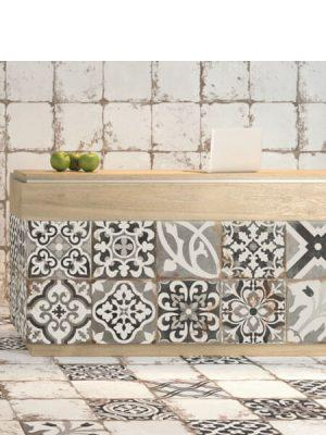 Pavimento porcelánico Antique patchwork 33x33 cm.