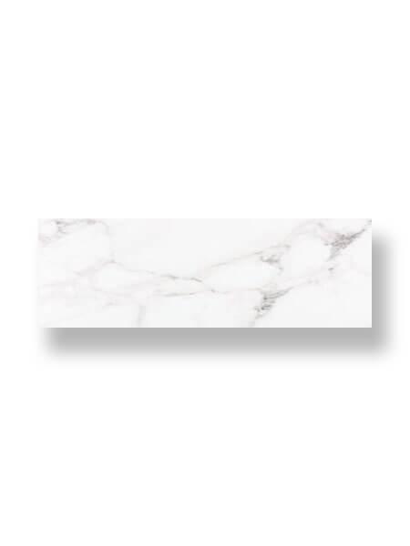 Revestimiento pasta blanca rectificado Calacatta brillo 33.3x100 cm (2 m2/cj)