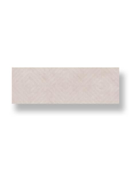 Revestimiento pasta blanca rectificado decorado lecco marfil 33.3x100cm (2 m2/cj)