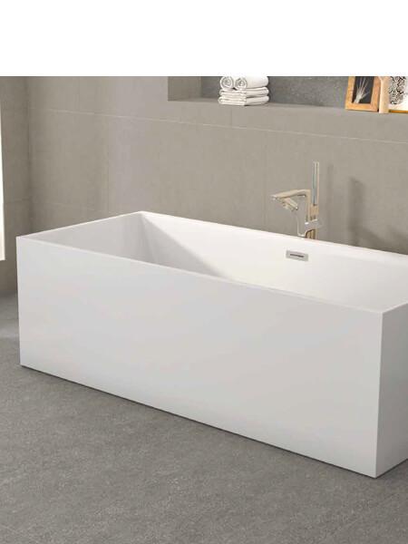 Bañera exenta acrílica Minimal 180x80 cm