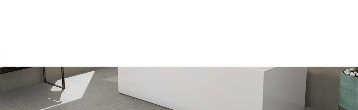 Bañera exenta acrílica Minimal 180x80 cm.