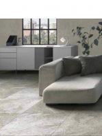 Pavimento porcelánico rectificado Nague gris