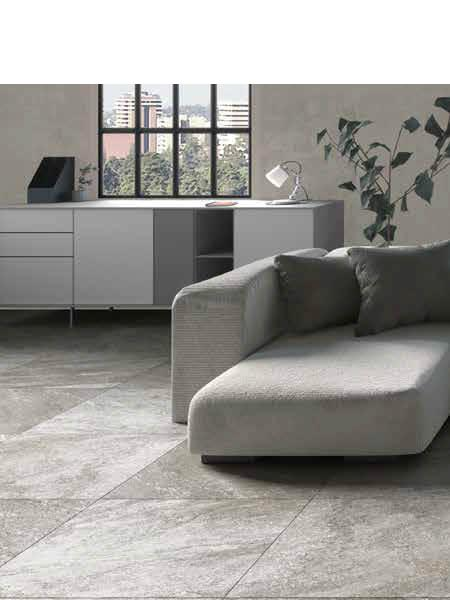 Pavimento porcelánico rectificado Nague gris 30x60 cm (1.08 m2/cj)