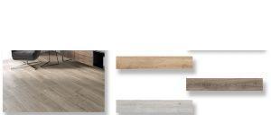 Pavimento porcelánico rectificado Emu haya 20x120 cm