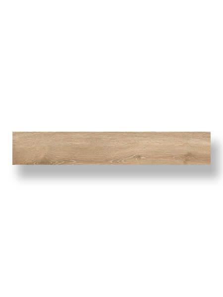 Pavimento porcelánico rectificado Emu Roble 20x120 cm (1.44 m2/cj)