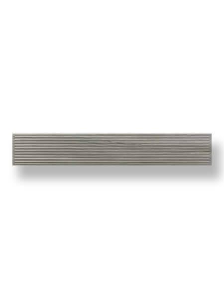 Pavimento porcelánico rectificado Frotk Ceniza 20x120 cm (1.44 m2/cj)