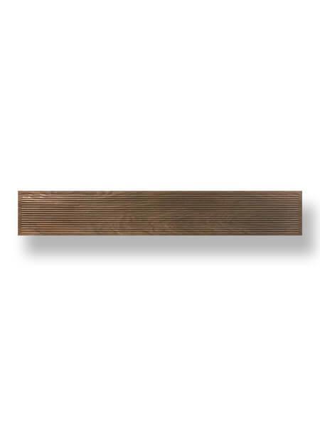 Pavimento porcelánico rectificado Noset Nogal 20x120 cm (1.44 m2/cj)