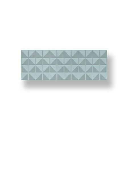 Azulejo pasta blanca rectificado decorado Arco Myra Acqua 30x90 cm (1.08 m2/cj)