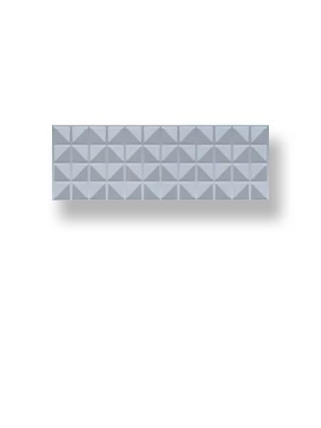 Azulejo pasta blanca rectificado decorado Arco Myra Ash 30x90 cm (1.08 m2/cj)