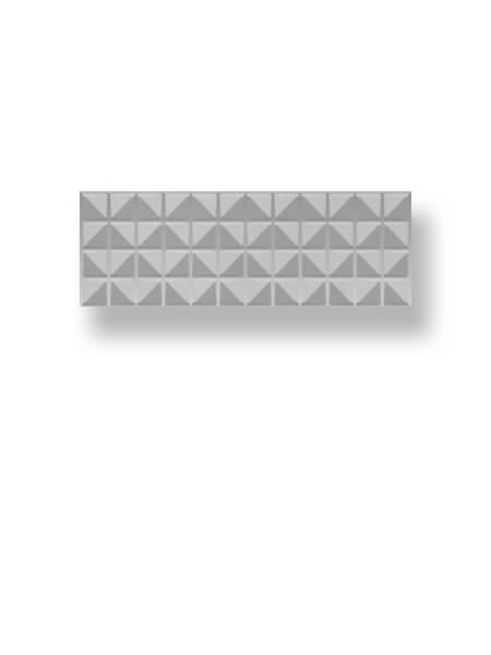 Azulejo pasta blanca rectificado decorado Arco Myra Snow 30x90 cm (1.08 m2/cj)