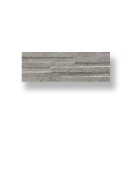 Revestimiento porcelánico rectificado Muretto Nague gris 17x52 cm (0.89 m2/cj)