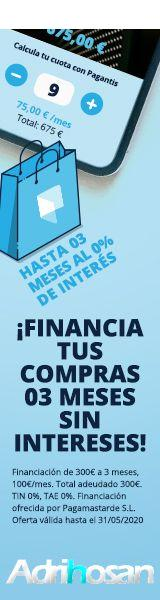 Financiación 3 meses sin intereses Adrihosan