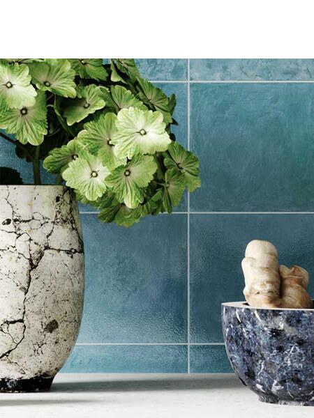 Azulejo porcelánico Zellige aqua 33x33 cm (1m2/cj)