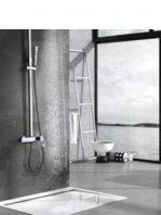 Columna de ducha monomando Voussac cromada.