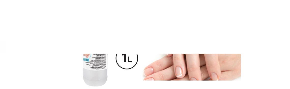 Gel limpia manos hidroalcohólico con aloe vera 1 litro.