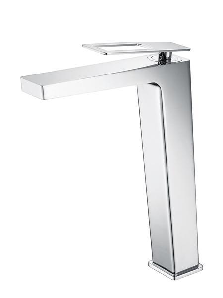 Monomando lavabo alto Voussac grifo cromo brillo