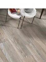 Pavimento porcelánico rectificado Naber Blanco 20x120 cm.