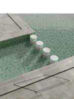 Peldaño técnico porcelánico Corten grey 44X66 cm