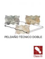 Peldaño técnico doble porcelánico Sella 44x66 cm.