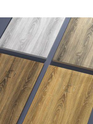Plato de ducha de resina Gel Coat madera.